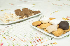 Assortment of cookies stock image