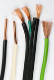 Assortment of Copper Wire. Assortment of Insulated Copper Wire Royalty Free Stock Photo