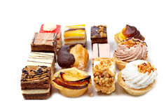 Assortment of delicious cakes Royalty Free Stock Photo