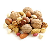 Assortment of different nuts Royalty Free Stock Photography