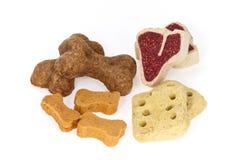 Assortment of dog treats Stock Photos