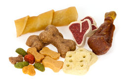 Assortment of dog treats Stock Photography