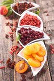 Assortment of dry fruit Royalty Free Stock Image