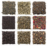 Assortment of dry tea Royalty Free Stock Photo