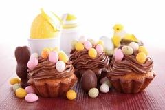 Assortment of easter dessert Royalty Free Stock Image