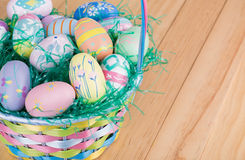 Assortment of Easter Eggs Stock Photography