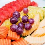 Assortment of exotic fruits Stock Photo