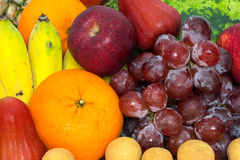 Assortment of exotic fruits Stock Photography