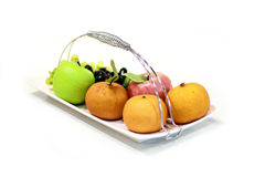 Assortment of exotic fruits  Royalty Free Stock Photos
