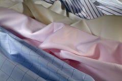 Assortment fabric Stock Images