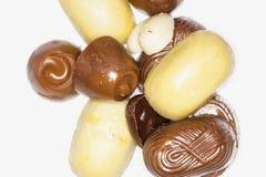 Assortment Of Fine White, Dark And Milk Chocolates, Royalty Free Stock Image