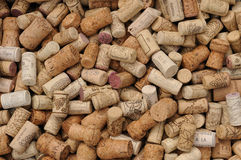 Assortment of French wine corks Stock Image