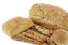 Assortment of fresh baked bread Stock Photo