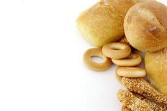 Assortment of fresh baked bread Stock Photography