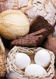 Assortment of fresh baked bread Royalty Free Stock Photos
