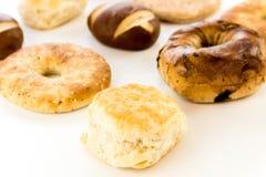Assortment of fresh baked breads. An assortment of fresh baked breads stock images