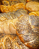 Assortment of fresh bread Stock Photo
