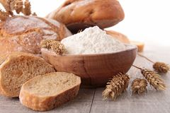 Assortment of fresh bread Royalty Free Stock Photography