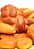 Assortment of fresh bread Royalty Free Stock Photo