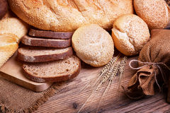 Assortment of fresh bread Royalty Free Stock Image