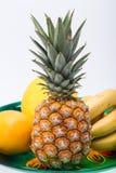 Assortment of fresh exotic fruits Royalty Free Stock Image