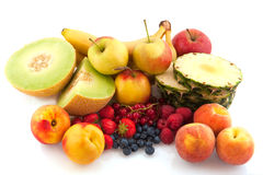 Assortment fresh fruit Stock Images