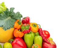 Assortment fresh fruit and vegetables Royalty Free Stock Photography