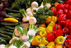 Vegetable assortment Royalty Free Stock Photos
