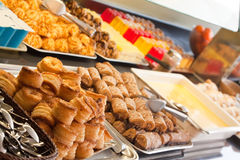 Assortment of fresh pastry Royalty Free Stock Image