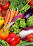 Assortment of fresh vegetables Stock Photography