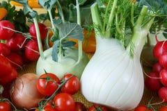 Assortment of fresh vegetables Royalty Free Stock Photo