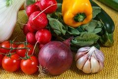 Assortment of fresh vegetables Stock Image