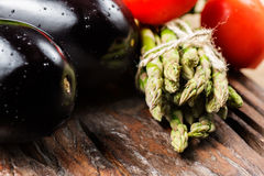 Assortment of fresh vegetables closeup Stock Photography