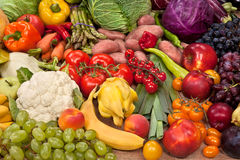 Assortment of fresh vegetables Royalty Free Stock Photos