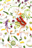 Assortment fresh vegetables Royalty Free Stock Photos