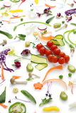 Assortment fresh vegetables Royalty Free Stock Photography