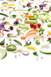 Assortment fresh vegetables Royalty Free Stock Images