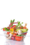 Assortment of fresh vegetables Stock Image