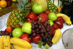 Assortment of fruit Royalty Free Stock Photos