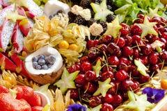 Assortment of fruit Stock Photos