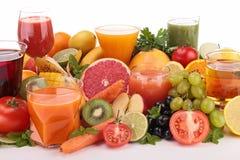 Assortment of fruit juice Royalty Free Stock Image