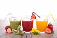 Assortment of fruit juice Stock Image
