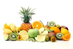 Assortment of fruits Royalty Free Stock Images