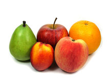 An assortment of fruits. Variety of fruit Royalty Free Stock Photo