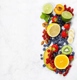 Assortment of fruits Royalty Free Stock Photo