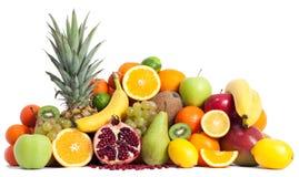Assortment of fruits vitamin c Royalty Free Stock Photos