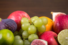 Assortment fruits royalty free stock photography