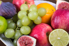 Assortment fruits royalty free stock image
