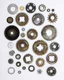 Assortment of gears Royalty Free Stock Photo