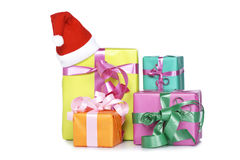 Assortment of gift boxes Stock Photo